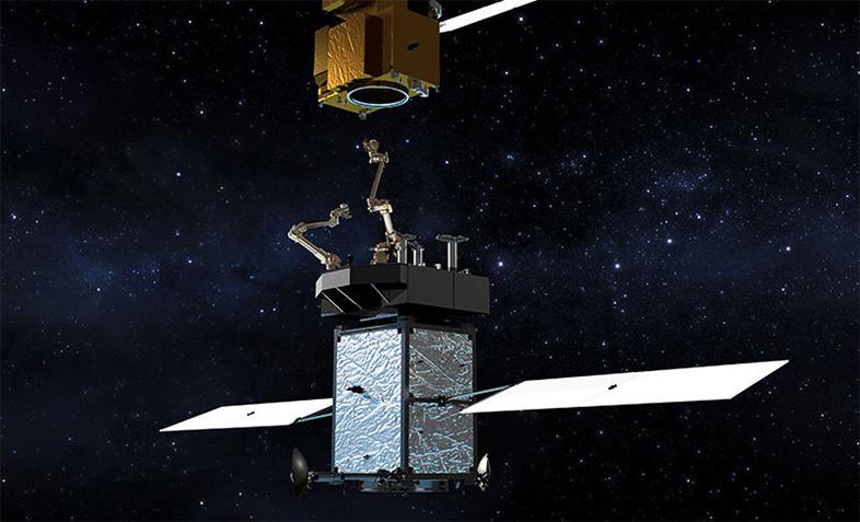 宇宙で修理、燃料補給するロボット