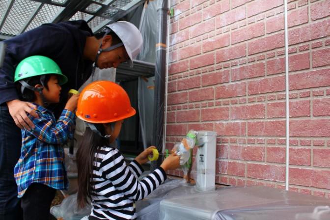 塗装体験でお小遣いゲット!DIYで家族からの株と財布の中身がアップ!