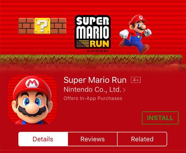 iOS向けに「スーパーマリオ ラン」がついに配信開始! 2
