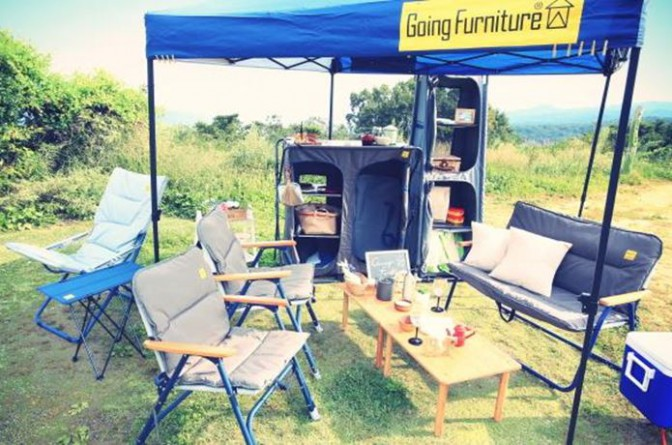 【屋内屋外兼用家具】外に持ち出せる「Going Furniture」ってなんだ?