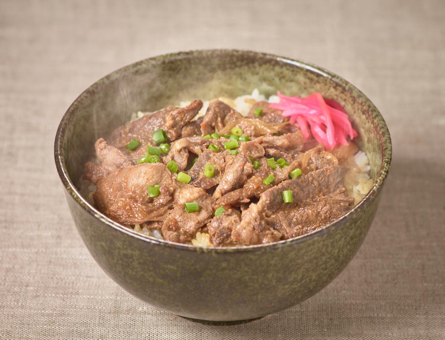 ジンギスカン丼(調理例)