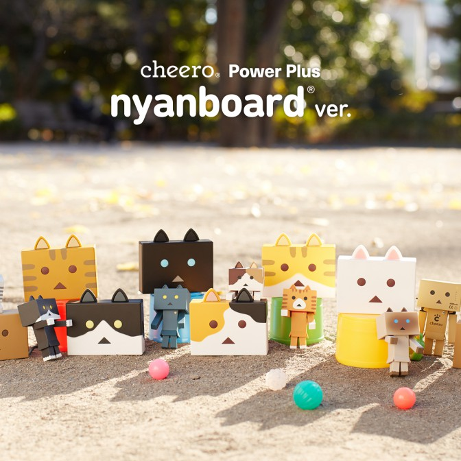 cheero Power Plus 6000mAh nyanboard version