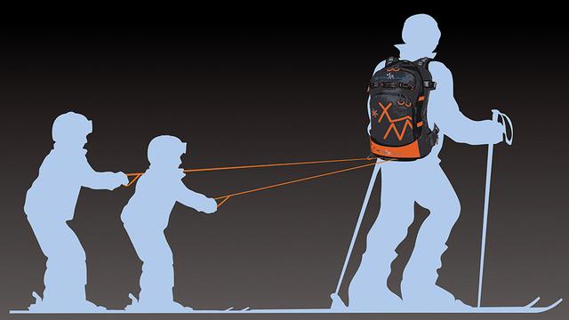 【ハンドル付き鞄】子どもをけん引