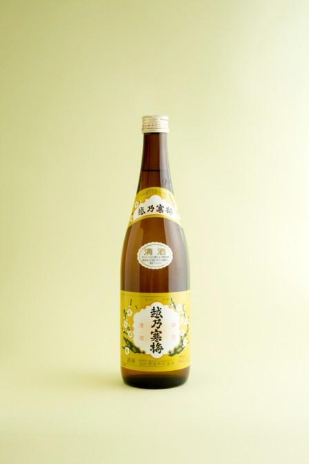 <石本酒造>越乃寒梅 白ラベル 普通酒(720ml)1,037円(税込)