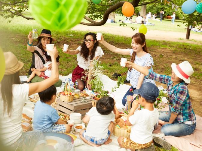【芝生のビアガーデン】品川で9月16日・17日開催。屋外ディスコで踊っちゃう?