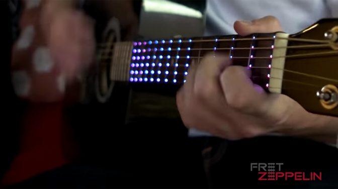 ギターを練習するのが楽しくなるお助けアイテム「Fret Zeppelin」 1