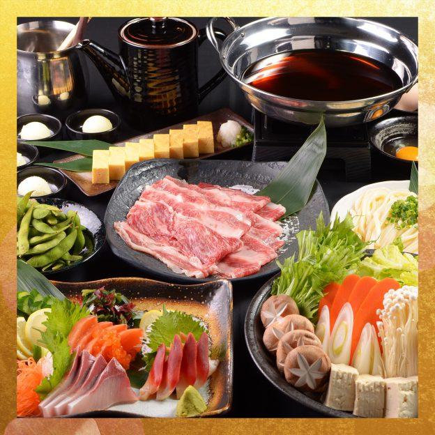 神戸牛すき鍋コース