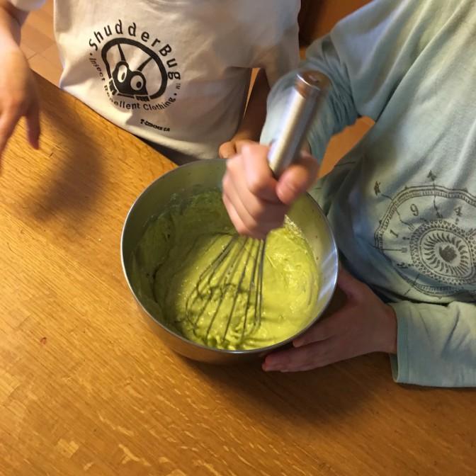 パンケーキを作る