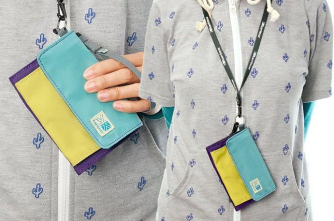 軽量コンパクトなのに驚きの収納力!週末はアウトドア用の財布でどこまでも!