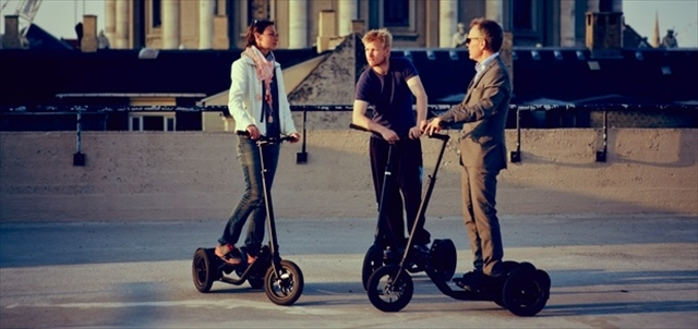 次世代型の自転車Me-Mover FIT