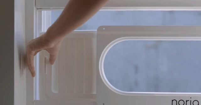 窓にはさむエアコン「Noria」