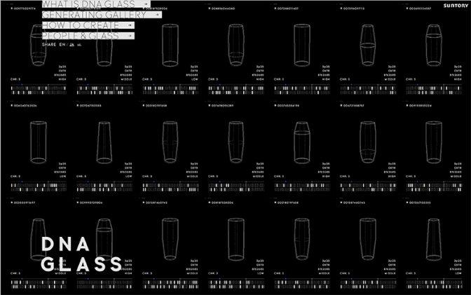 お前のDNAはどんなビールグラスを欲しがってるんだ? 遺伝子から作る「Suntory DNA GLASS Project」 #プレミアムフライデー 2