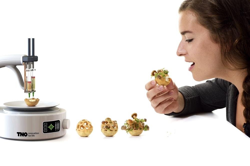 「プリントして食べてね?」3Dプリンターと食で作る新ご飯とは