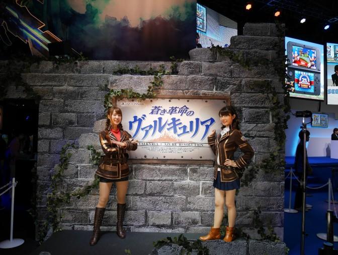 東京ゲームショウ2016コンパニオン