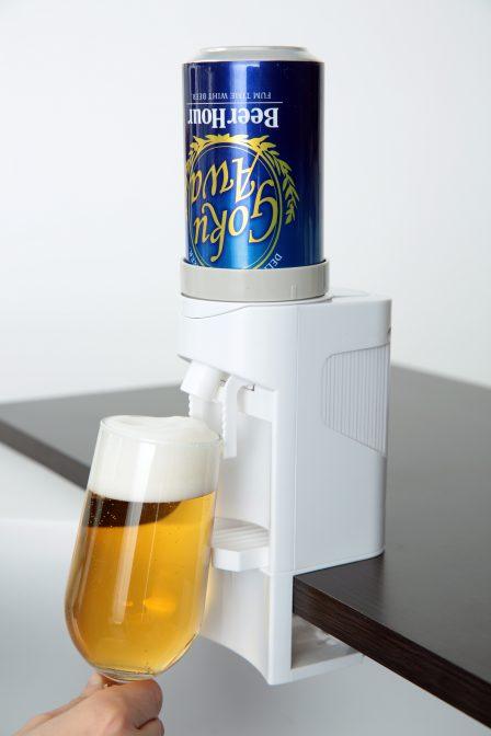 『ビールアワー 極泡バーサーバー』使用イメージ