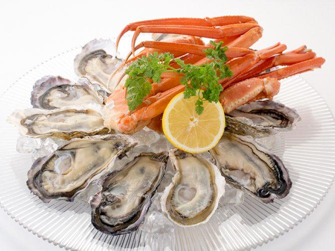 牡蠣や春グルメが食べ放題