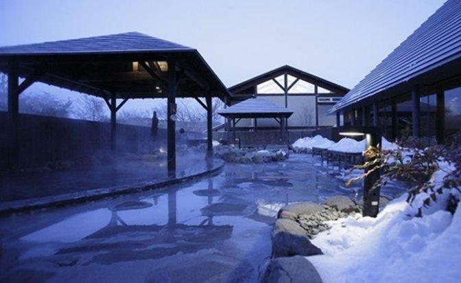 天然温泉「彩光の湯」