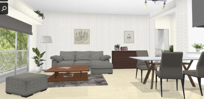大塚家具3Dシミュレーションサービス 利用イメージ