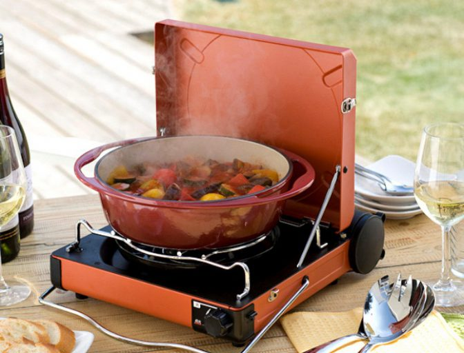キャンプ料理ならこのコンロ