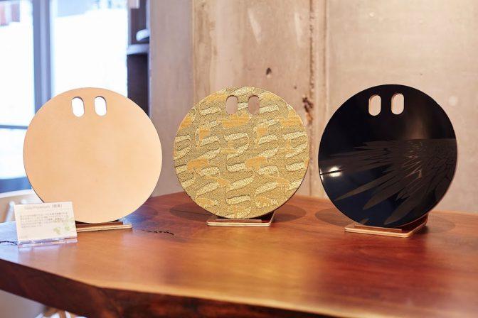 漆や西陣織を使った伝統工芸コラボモデル「foop Premium」