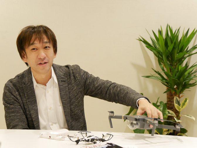 【ドローンキーパーソンインタビューVol.9-2】エバンジェリスト西脇氏のベストBuyドローンとは?