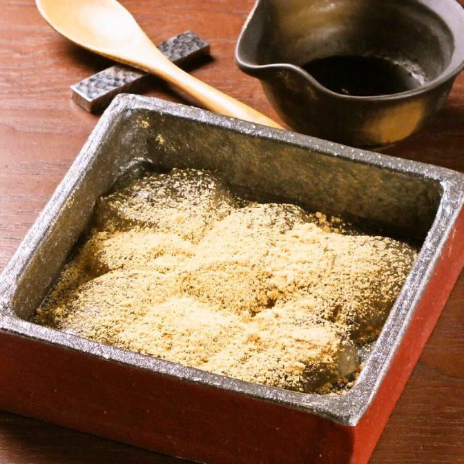 自家製わらび餅 特製生姜黒蜜