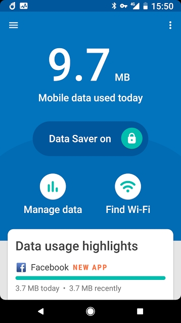 スマホの通信料節約アプリをGoogleがリリース