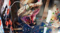 【トリックアート×クライミング】大蛇の壁をよじ登れ!屋内複合遊戯施設「CROSPO」がリニューアル