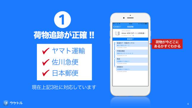 iPhone用無料アプリ『ウケトル』