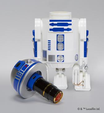 ハンコ押すたびスター・ウォーズの世界に。R2-D2がネーム印と合体