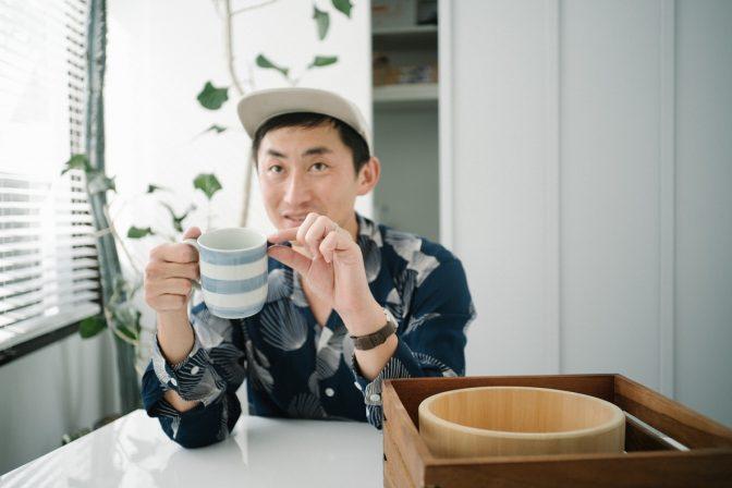 毎朝カフェオレを飲むための『マグカップ』