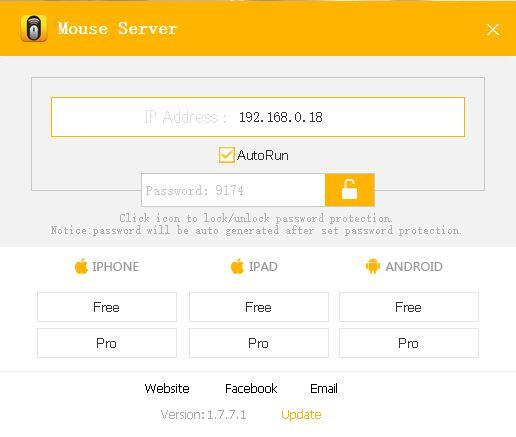 Wi-Fiマウス|キーボード Pro