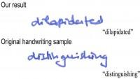 【筆跡を完璧に再現できるソフト】これ、人を騙せるレベルです