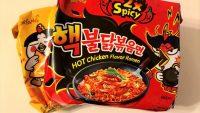 韓国で人気沸騰中の激辛炒め麺「プルダックポックンミョン」を実食!