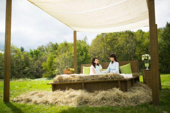 【星野リゾート トマム】大自然の中で二度寝ができる「牧草ベッド」2017年7月1日 登場