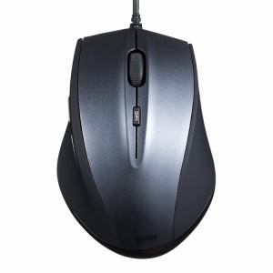 ブルーLEDマウス「400-MA068_070」