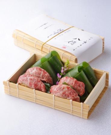近江牛ステーキ笹寿司すし