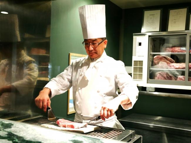 ひすい焼きステーキ「八傳(はちでん)」