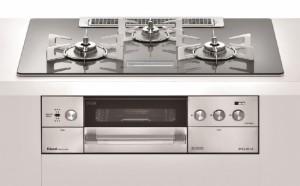RHS72W22E2VC-STW ・希望小売価格: 331,000円(税抜価格) ガラストップ:アローズシルバー/ココット付属