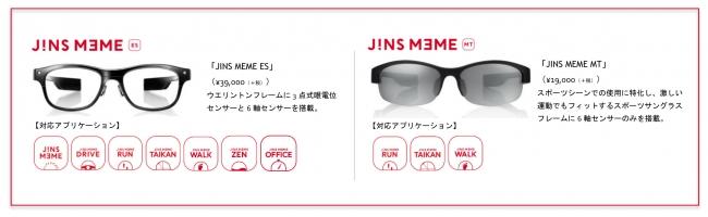 「JINS MEME(ジンズ ミーム)