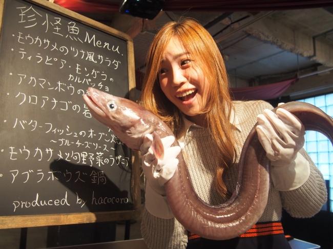 """驚愕のグルメイベント""""珍怪魚を食べてみよう"""""""