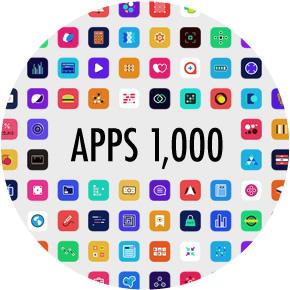 1,000近くの定番アプリからお気に入りアプリを探そう