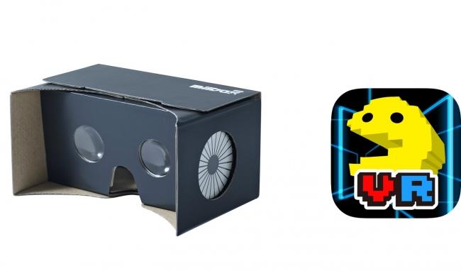 【着けたまま操作可能】地味な見た目の紙製VRゴーグル「MilboxTouch」がすごい
