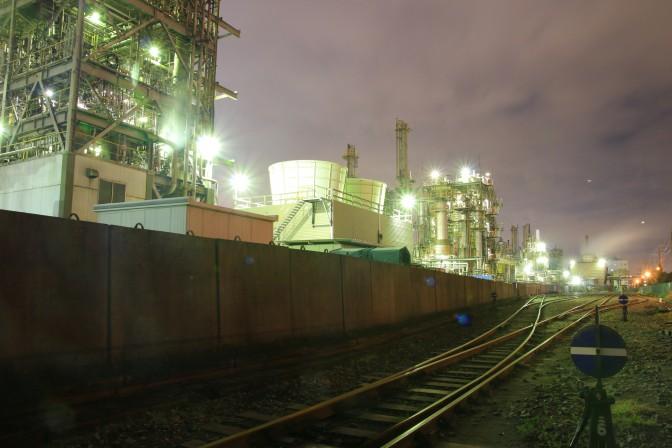 【iPhone7カメラ】工場夜景どこまでキレイに撮れるか?