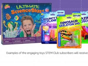 楽しく理系脳を育む! STEMおもちゃの定期便が登場