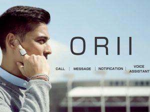 スクリーンはもういらない? 指にはめるスマホ、「ORII」の実力