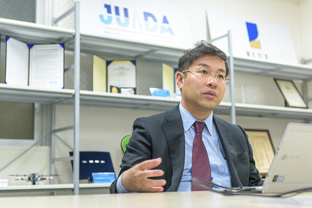 ブルーイノベーション株式会社 代表取締役 熊田貴之氏