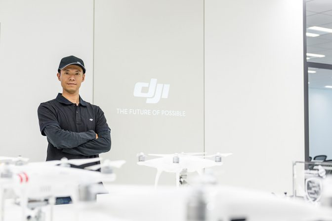 【ドローンキーパーソンインタビューVol.12-1】DJIのエースパイロット 中村佳晴氏の意外な仕事