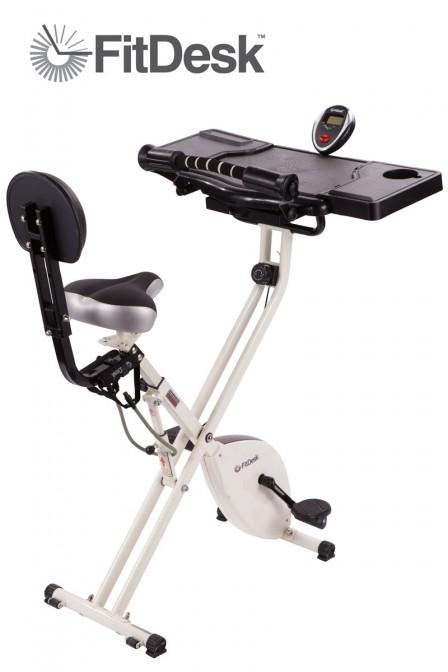 【仕事しながら痩せる】肥満大国アメリカで開発された運動できるデスク「FitDesk X2.0」の発想が斜め上