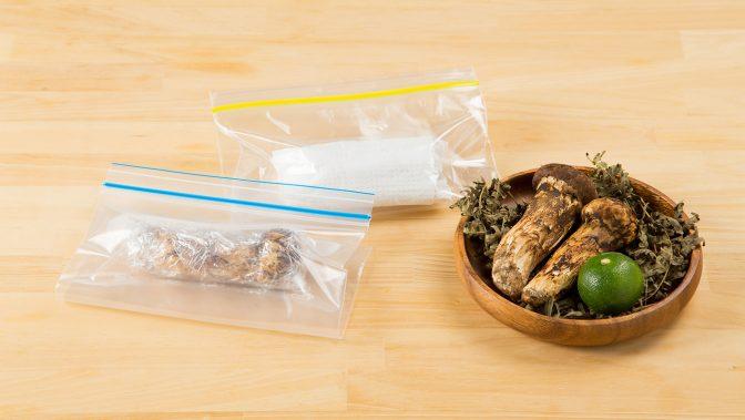 贅沢に家のみ。香りの高い松茸を見極める4つのポイント